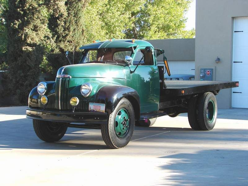 vintage flatbed truck for sale | ... of 1953 chevy 1 ton flatbed ...