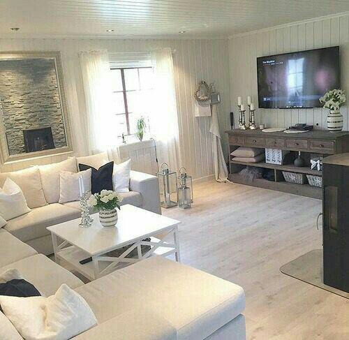 Pin de Cheryl Brighton en Dream home one day Pinterest - Decoracion De Interiores Salas