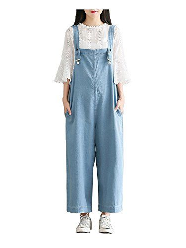 4021e4a19610 Gooket Women s Juniors Casual Loose Wide Leg Strappy Pants Sleeveless  Jumpsuit Rompers overalls