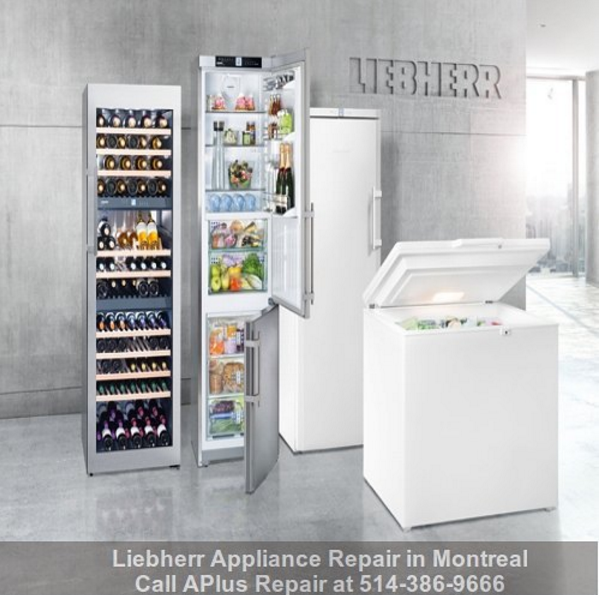 Liebherr Products Repair in Montreal | Appliance repair