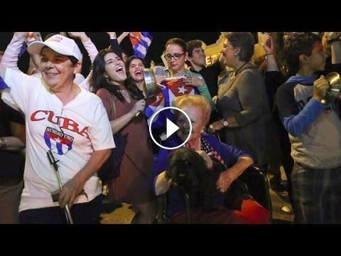 Crowds cheer Castro's death in Miami: News of Fidel Castro's death was quick to reach Miami the center of the Cuban exile community, where…