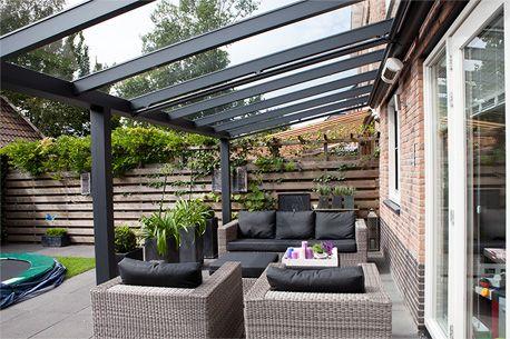 Pallazzo aluminium veranda of terrasoverkapping - verkrijgbaar bij Van Esseveld Geveltechniek, bel ons eens op 0318-472114! (klik op de foto voor originele formaat)