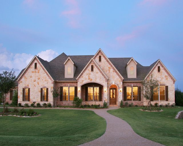 Paul Taylor Homes Dallas Fort Worth Texas Find A Home Builder Build On Your Land Lot Rustic Houses Exterior Home Builders Building A House