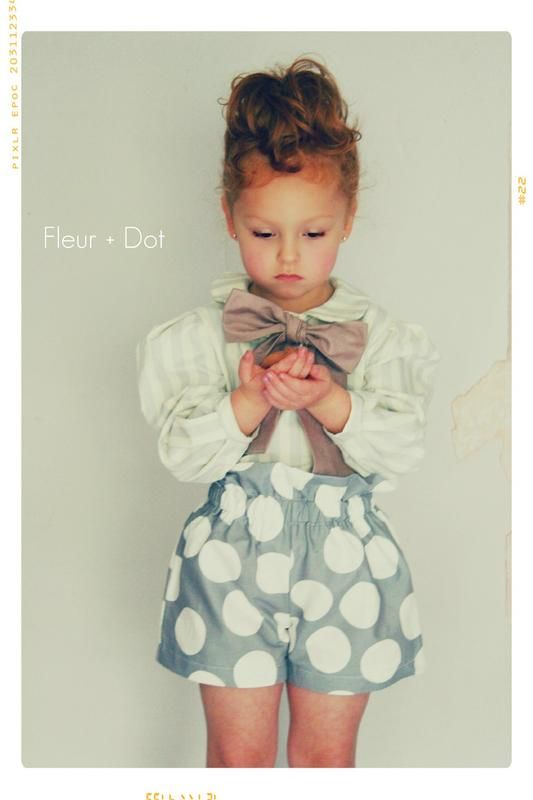Fleur + Dot // cutest shorts for a little girl I've ever seen
