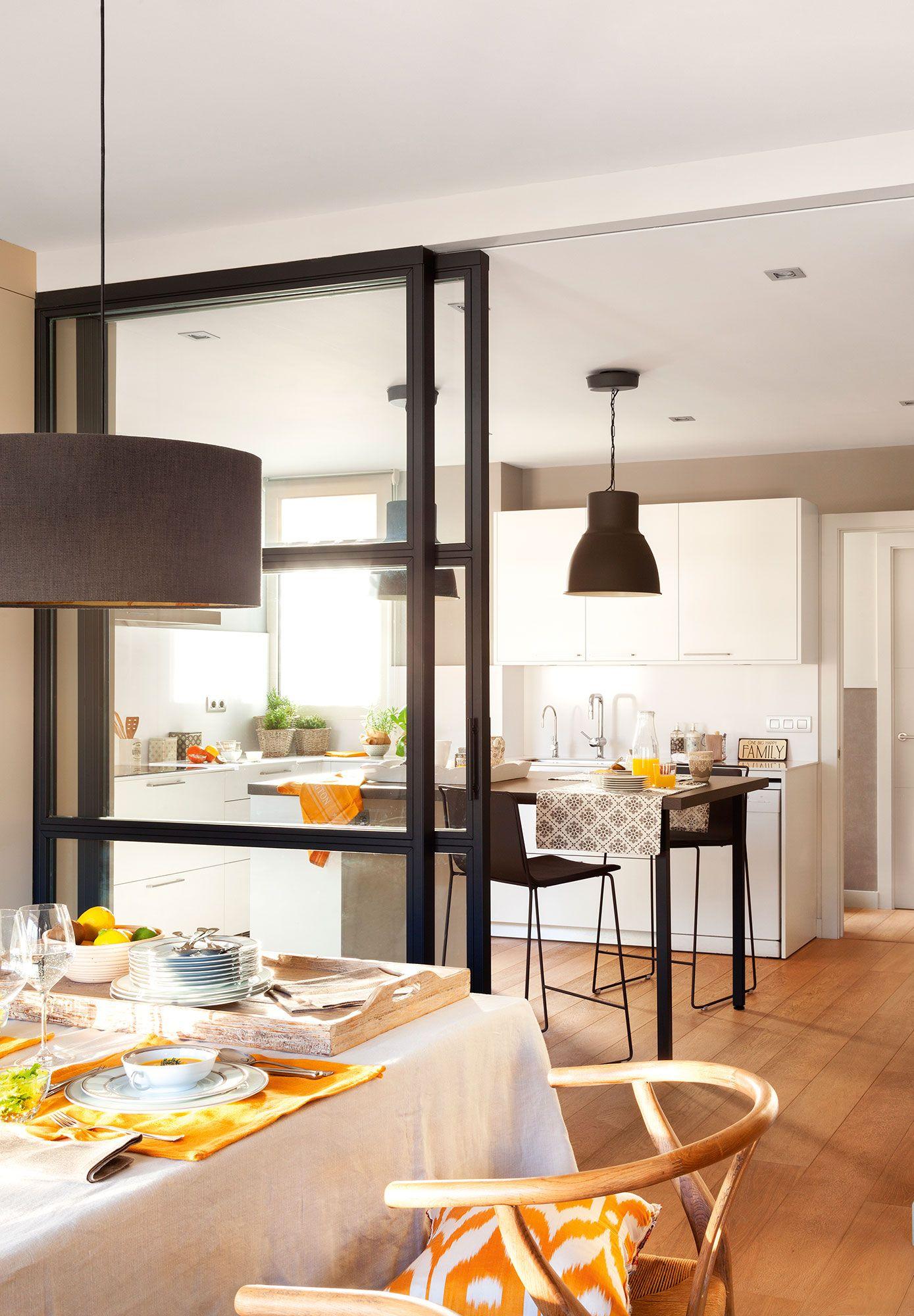 Cocinas pr cticas para cada tipo de necesidad y familia for Cocinas practicas y pequenas