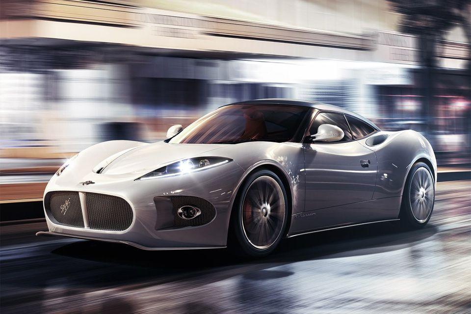 Spyker B6 Venator Concept.  Shut the front door!  OMGosh!  This thing looks AMAZING!