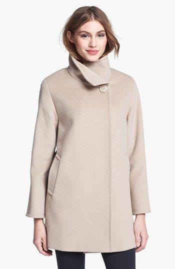 ae362c773b Cinzia Rocca Due Convertible Collar Wool Coat (Petite) available at  #Nordstrom