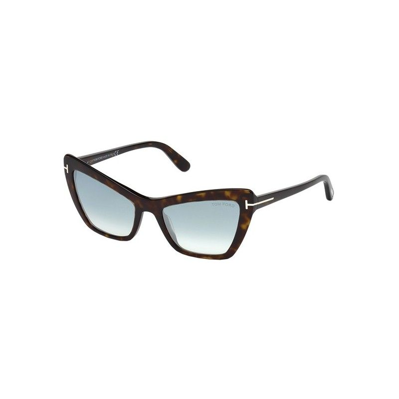 c7701f75d1 Gafas de Sol Tom Ford FT0555 VALESCA Dark Havana - Blue Shaded ...