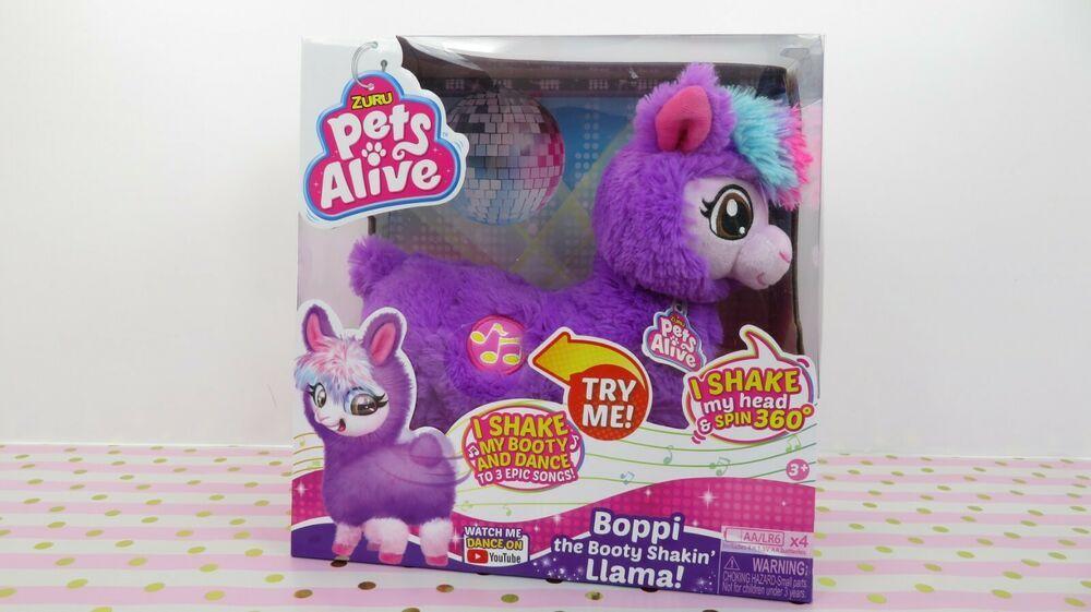 Purple Boppi The Bootie Shakin Llama Pets Alive By Zuru New 2019 Zuru Pets Zuru Ebay