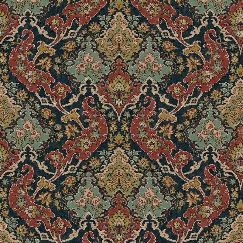 Cole & Son Pushkin Classic Damask Wallpaper Sample