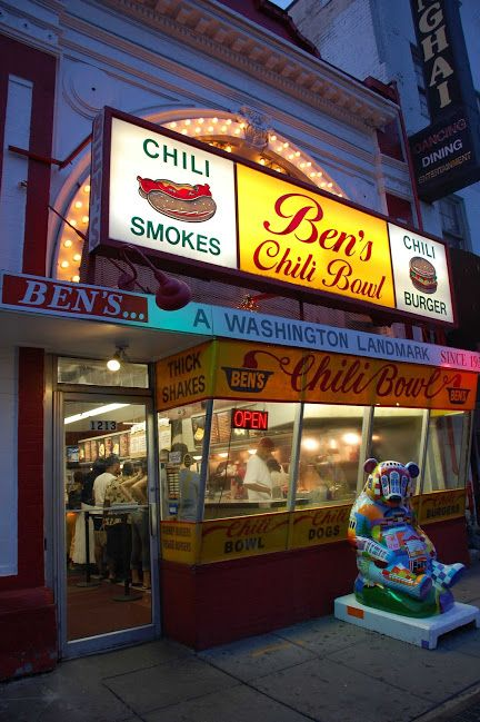 Pin By Jolene Munch Cardoza On Life Now In Technicolor Bens Chili Bowl Chili Bowl Bens Chili Bowl Dc