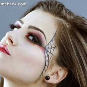last minute sexy witch halloween makeup - Spider Witch Halloween Costume