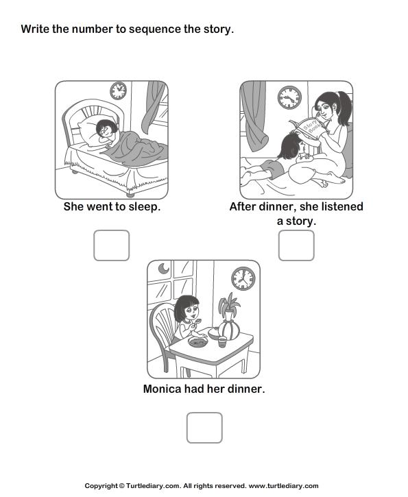 Story Sequencing Cards For Kindergarten | ESL | Pinterest ...