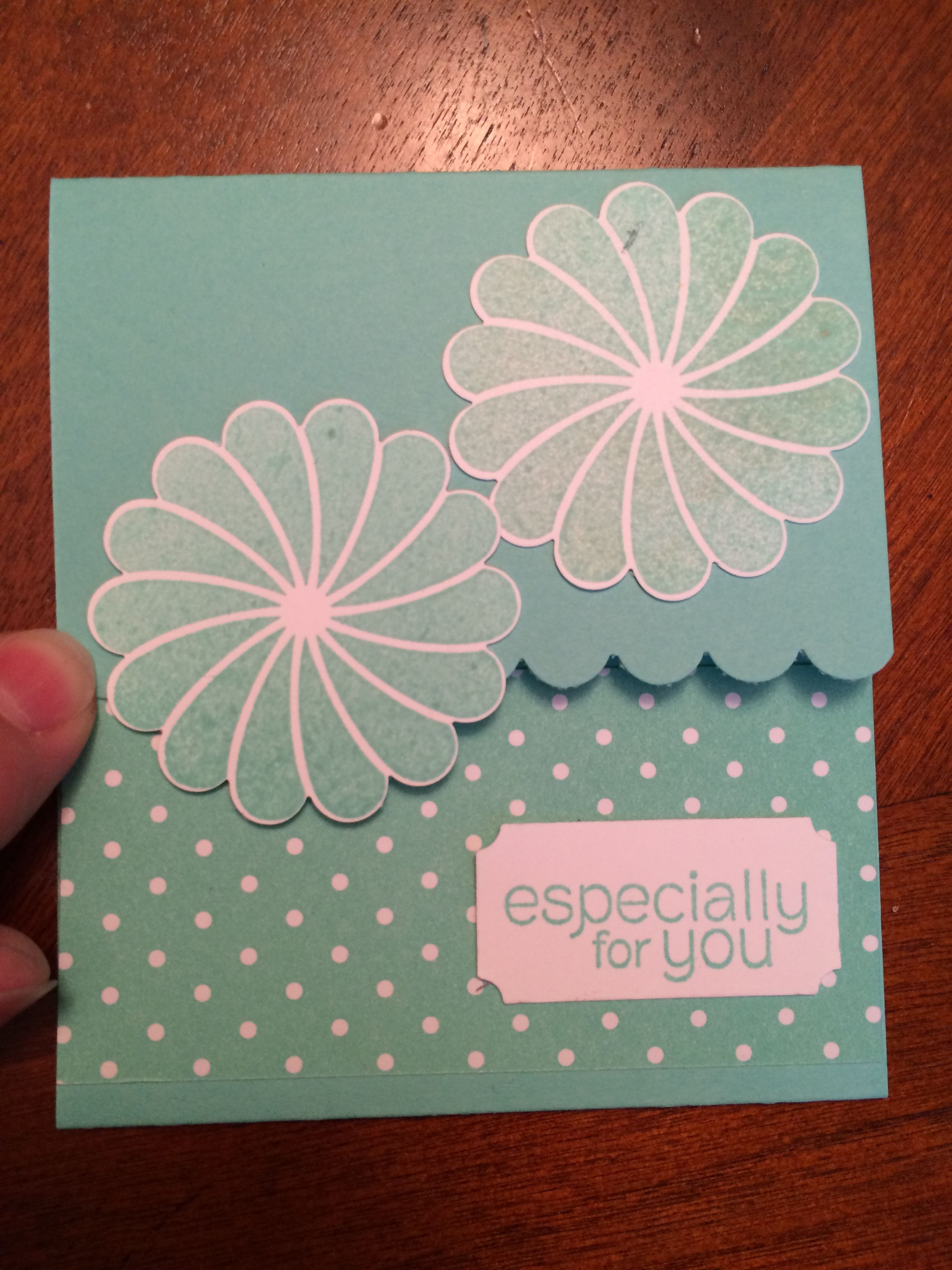 this is a gift card holder that i put my business cardscoupon in for my giveaway - Gift Cards For My Business
