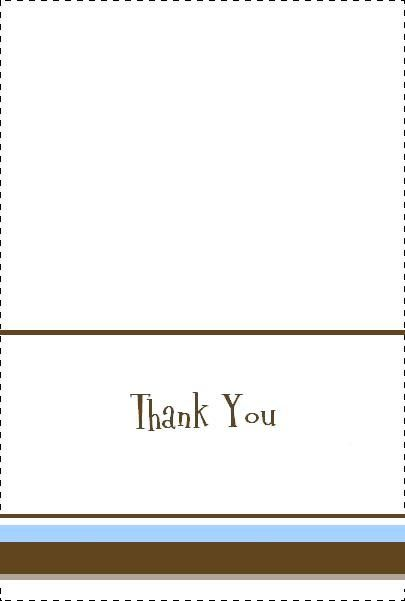 Baby Shower Thank You Card  Cards And Designs    Party