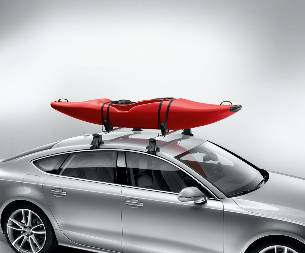 Take To The Water With The Audi Kayak Roof Rack This Summer Available Here Http Www M25audi Co Uk Audi Acce Kayak Roof Rack Roof Rack Summer Accessories