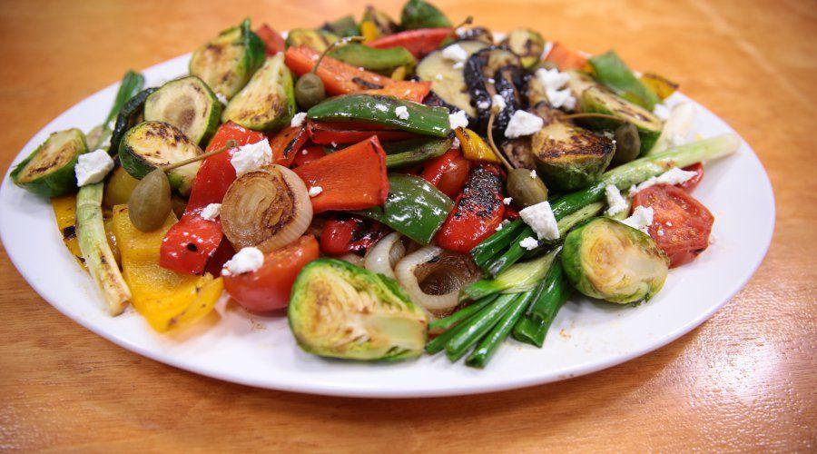 Preparemos un Mix de verduras y papas con tocino
