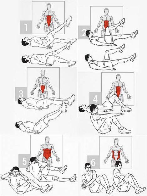 Resultado de imagen para abdomen bajo rutina gym - Rutinas gimnasio en casa ...