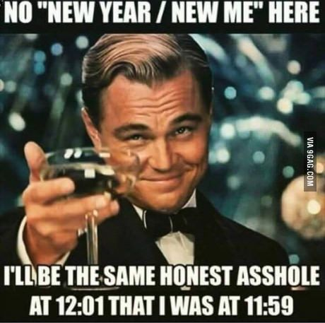 New Year's Eve - 9GAG | Funny new years memes, Funny new year, New year  quotes funny hilarious