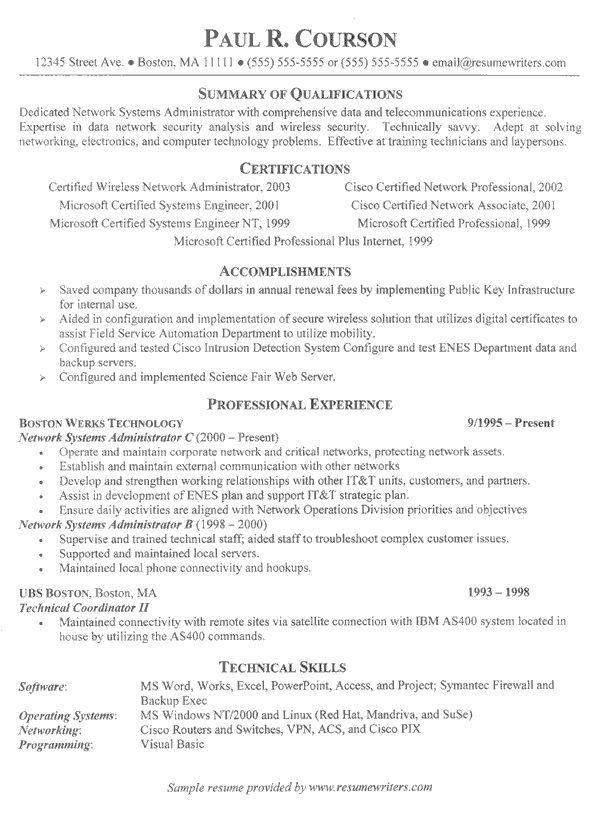 Information Technology Resume Template - http\/\/topresumeinfo - resume information