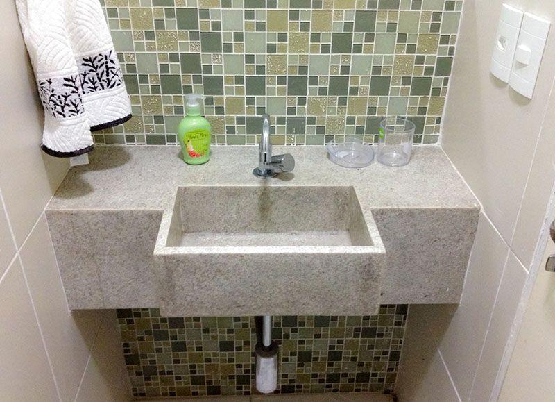 Resultado de imagem para lavabos modernos com pias antigas de louça