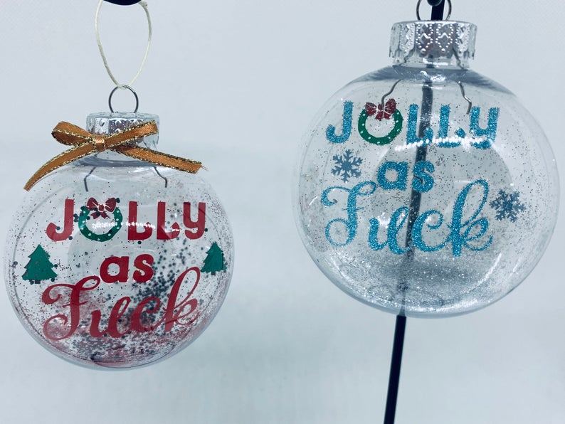 Inappropriate Christmas Ornament Unbreakable Ornament Etsy In 2020 Inappropriate Gift Gag Gifts Christmas Funny Christmas Ornaments
