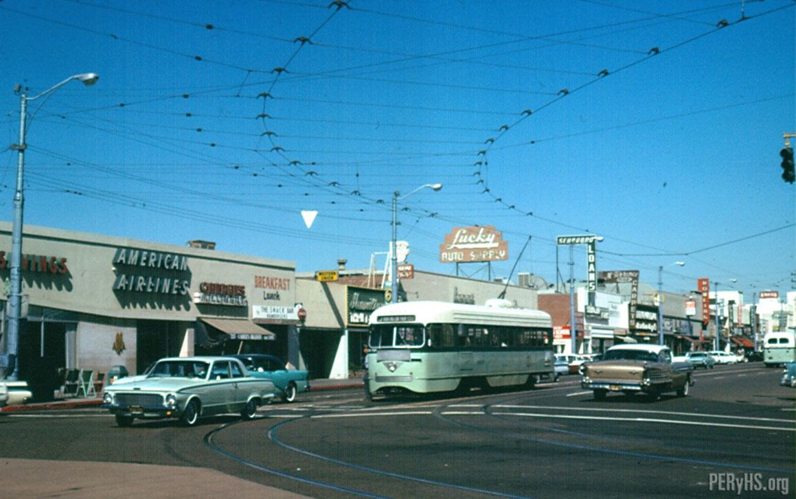 J Line Pacific And Florence February 1963 East Los Angeles Los Angeles Area Huntington Park