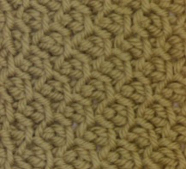 Stitch of the Week: Tunisian Crochet Honeycomb | WIPs \'N Chains ...