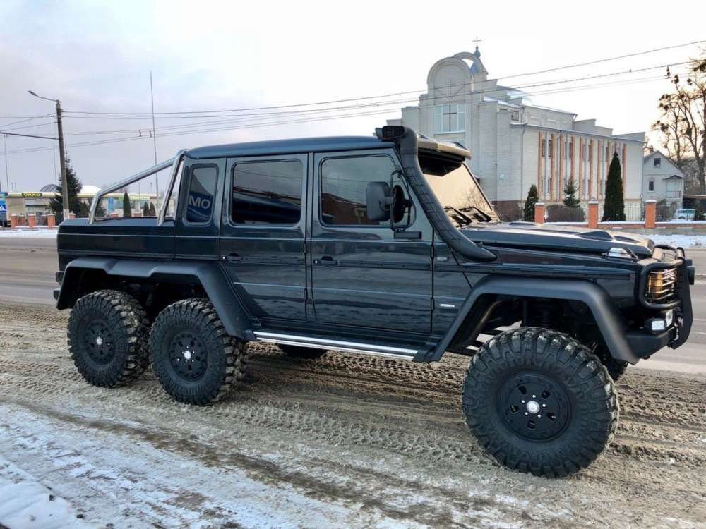 2018 mercedes-benz g 63 amg 6x6 suv conversion of any g-class tags