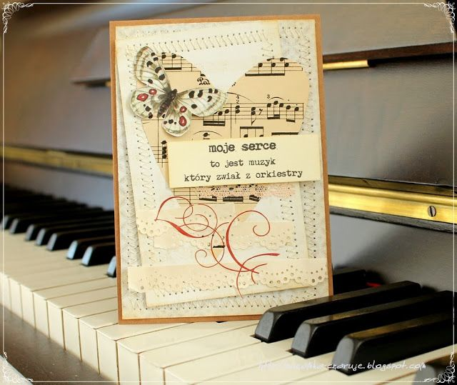 Music Card By Zuzanka Musical Cards Cards Gallery Design