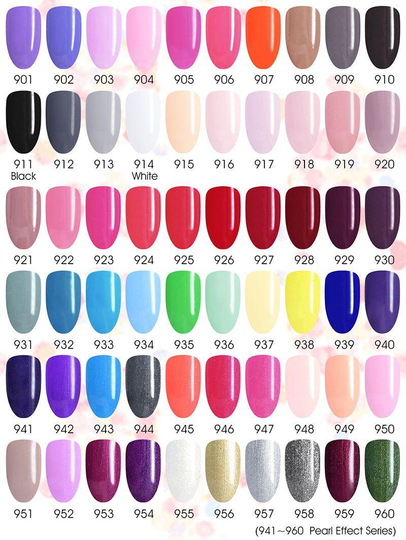 61508colorchart Nail polish, Gel nails, Gel nail polish