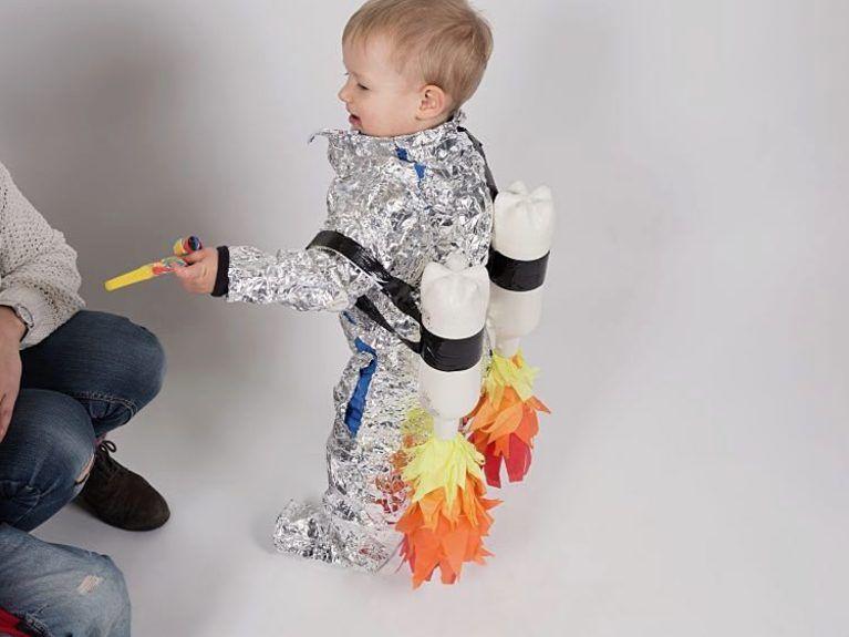 Diy Anleitung Astronauten Kostum Fur Kinder Selber Machen Via