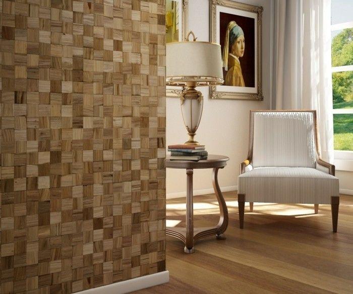 Ideen Für Wandgestaltung Wohnzimmer Holzoptik Wanddeko