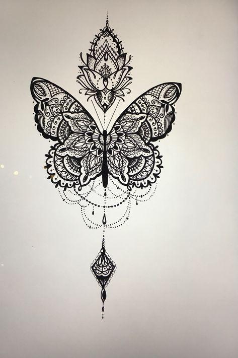 38 Trendy Tattoo Designs Back Henna In 2020 Tattoos