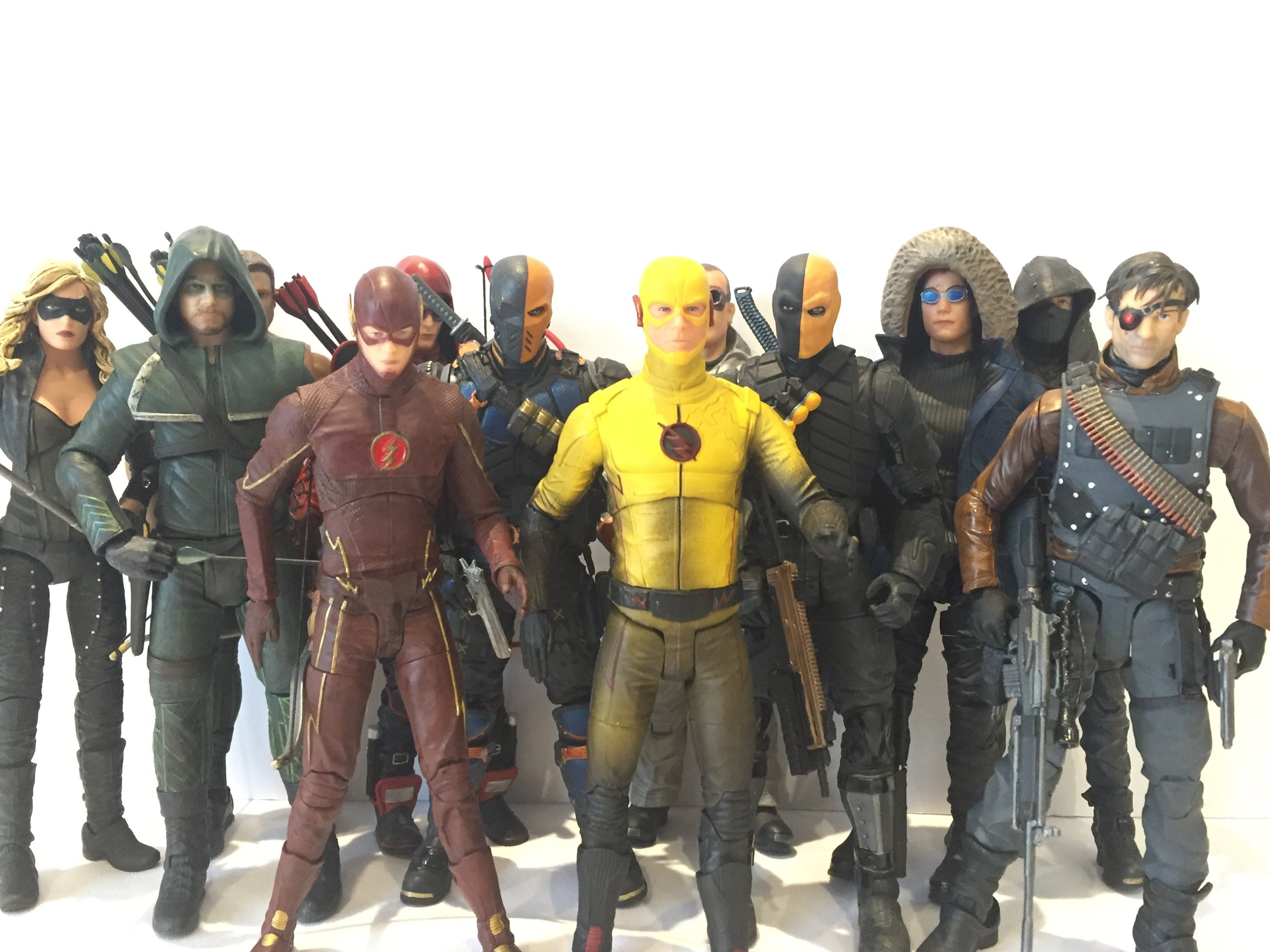 The flash season 2 recap and review the reverse flash returns - Dc Collectibles Reverse Flash Cw Show Figure Review Arrow Flash