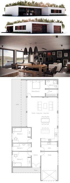 Hauspläne modern  Hausplan, TOP 20 Hauspläne | Haus | Pinterest | Modern house plans ...