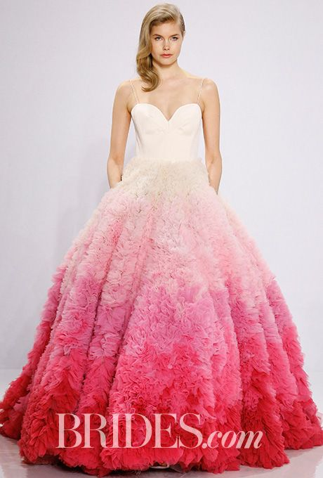 Fancy Christian Siriano for Kleinfeld Wedding Dress Spring Brides