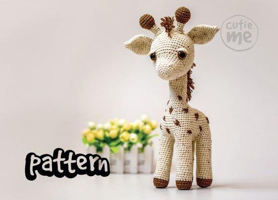 PATTERN. Giraffe Baton. Amigurumi pattern giraffe , crochet giraffe pattern #crochetgiraffepattern