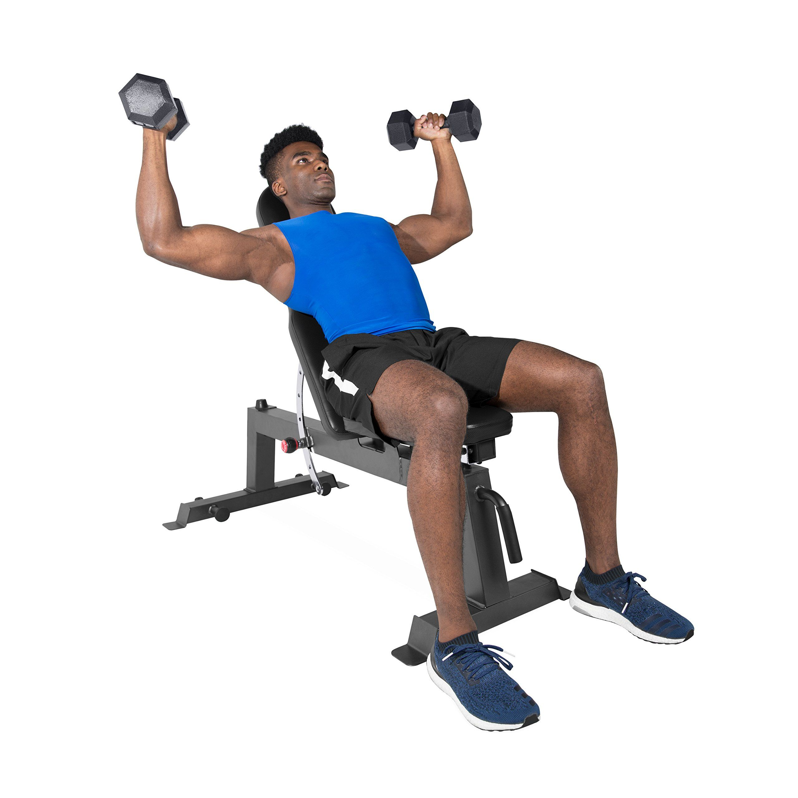 Cap barbell black deluxe utility bench you could find