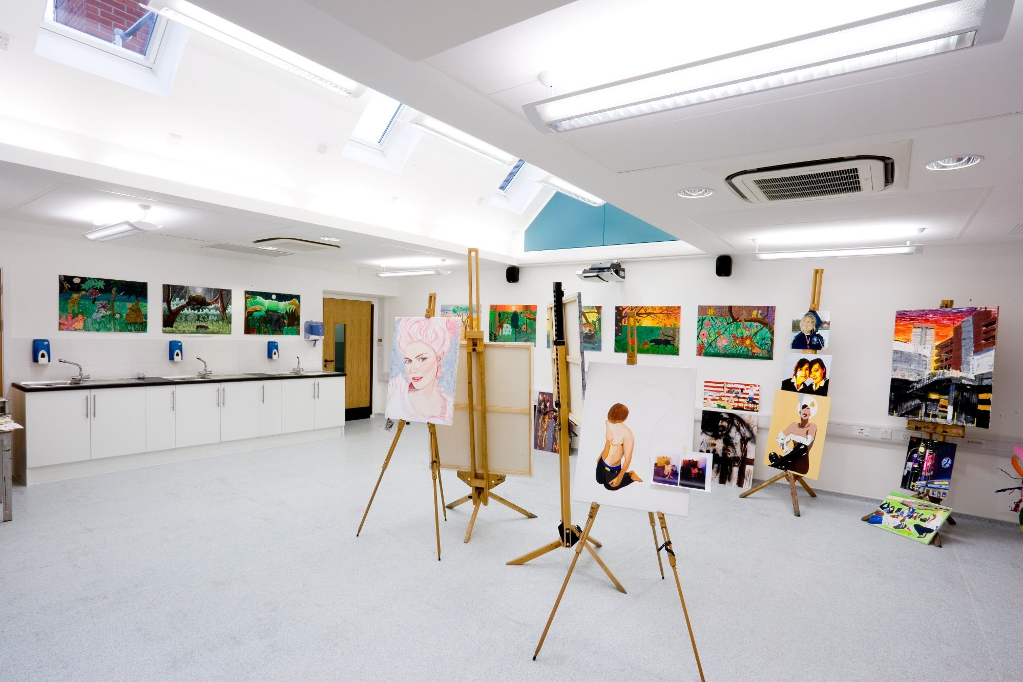 Best Art Studio Design Ideas Contemporary - Decorating Ideas ...