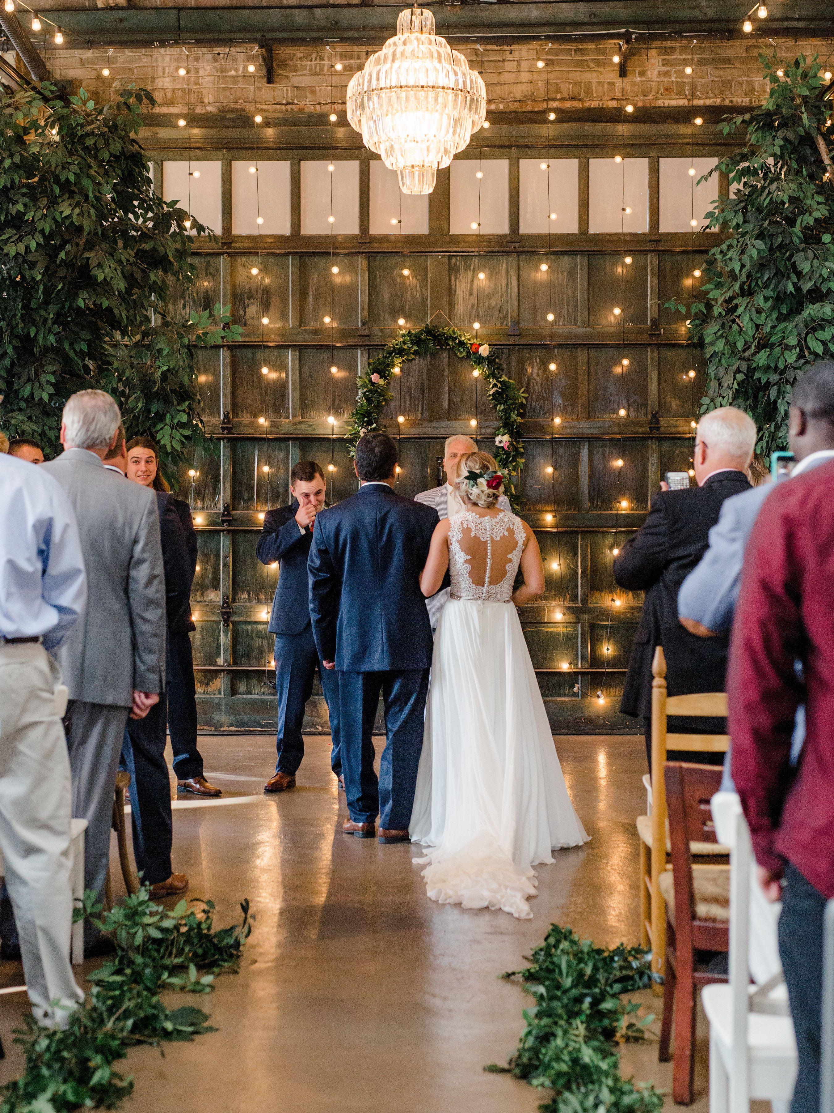 Michelle And Scott Soho South Wedding Wedding Savannah Wedding Candle Lit Wedding