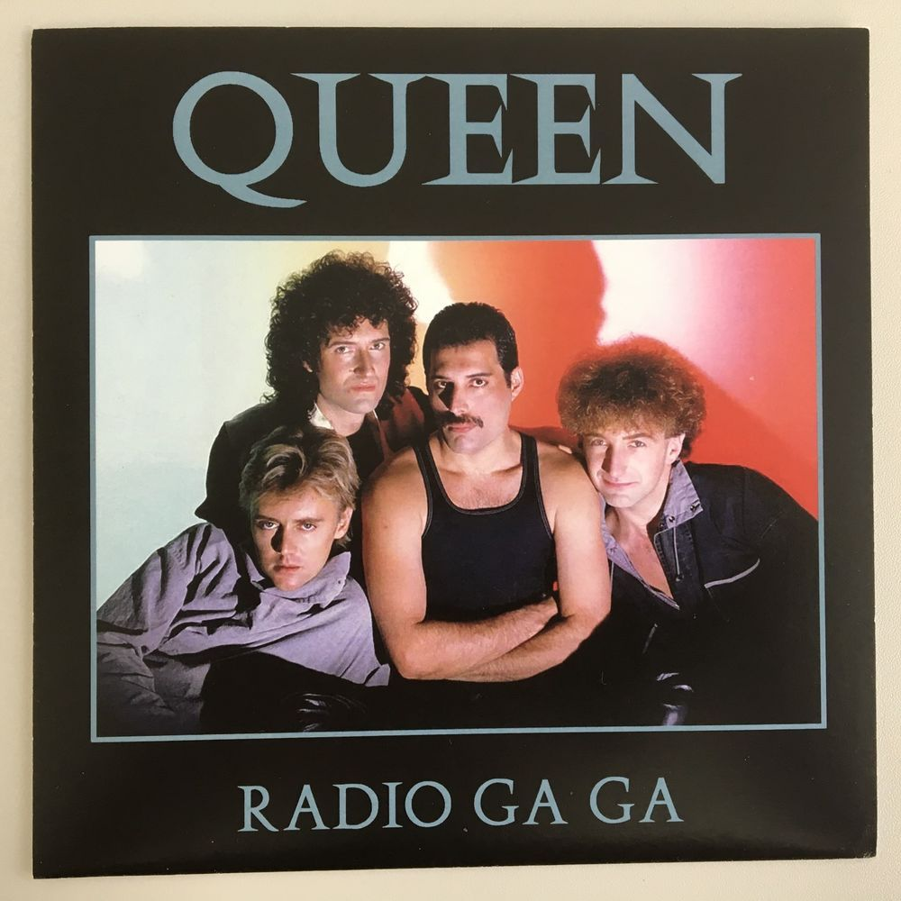 Image result for queen radio gaga single images