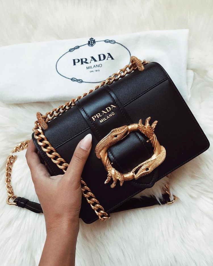 efc3708b861c Pin by La Bella Sposa on Handbag Obsession in 2019 | Prada cahier ...