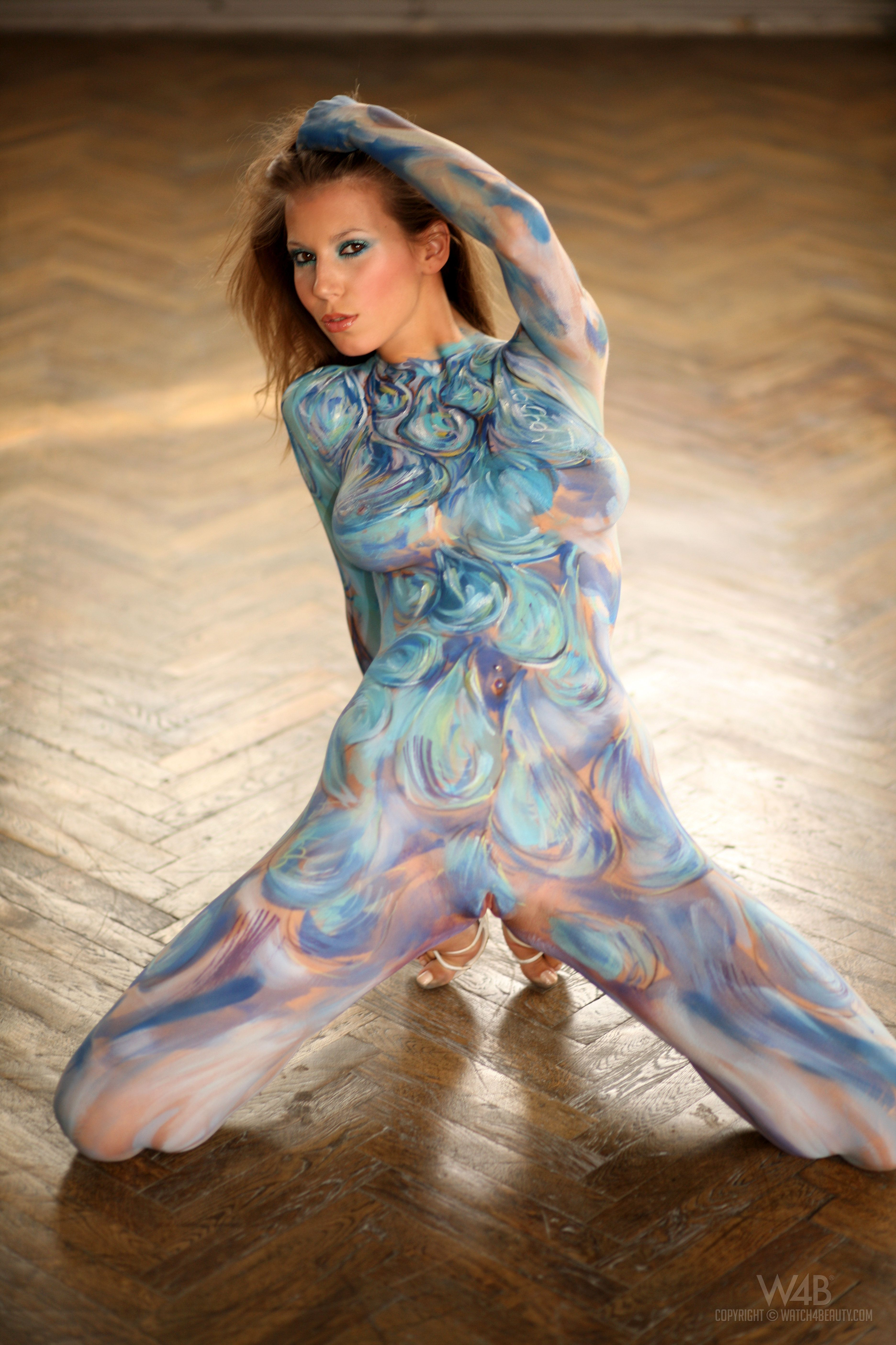 bodypaint356 body art body painting female body