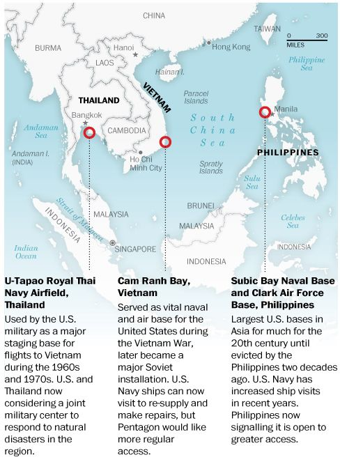U S Military Expansion In Southeast Asia City Island Paracel Islands Southeast Asia