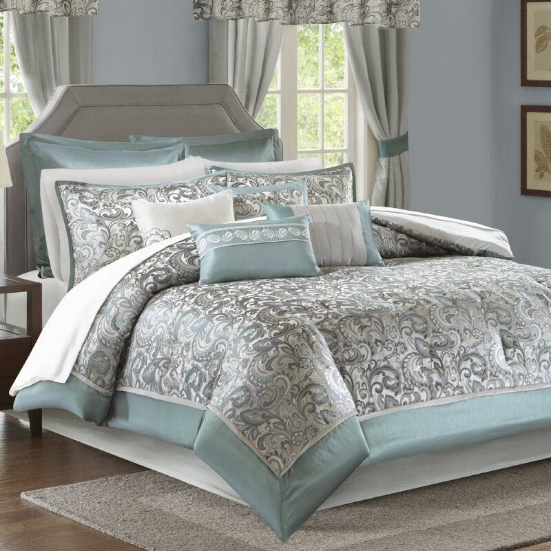 Wightmans Comforter Set in 2020 Comforter sets, Simple