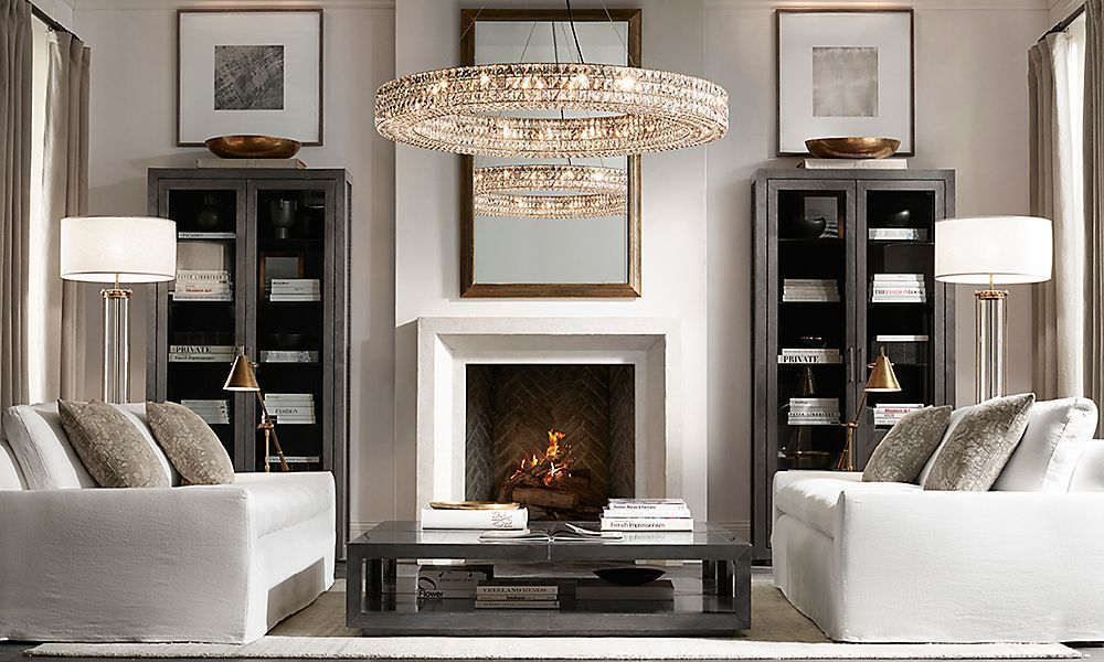 Restoration Hardware Is The Worlds Leading Luxury Home Furnishings Purveyor Offering Furniture Lighting Living RoomSmall
