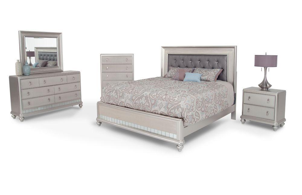 Diva 8 Piece Queen Bedroom Set in 2019 | Diva bedroom, Diva ...