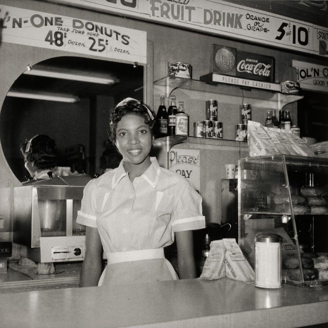 blackhistoryalbum: Helen Ann Smith at the diner Harlem House