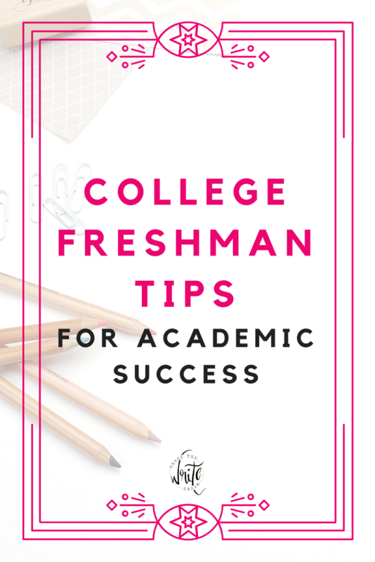 college freshman tips for academic success college tips
